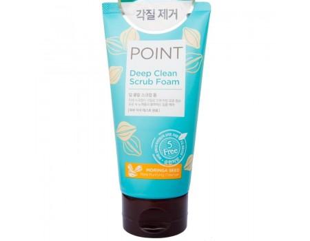 POINT Пенка-скраб для умывания 150г (для всех типов кожи)