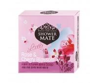 Shower Mate Роза и вишневый цвет Мыло 100г